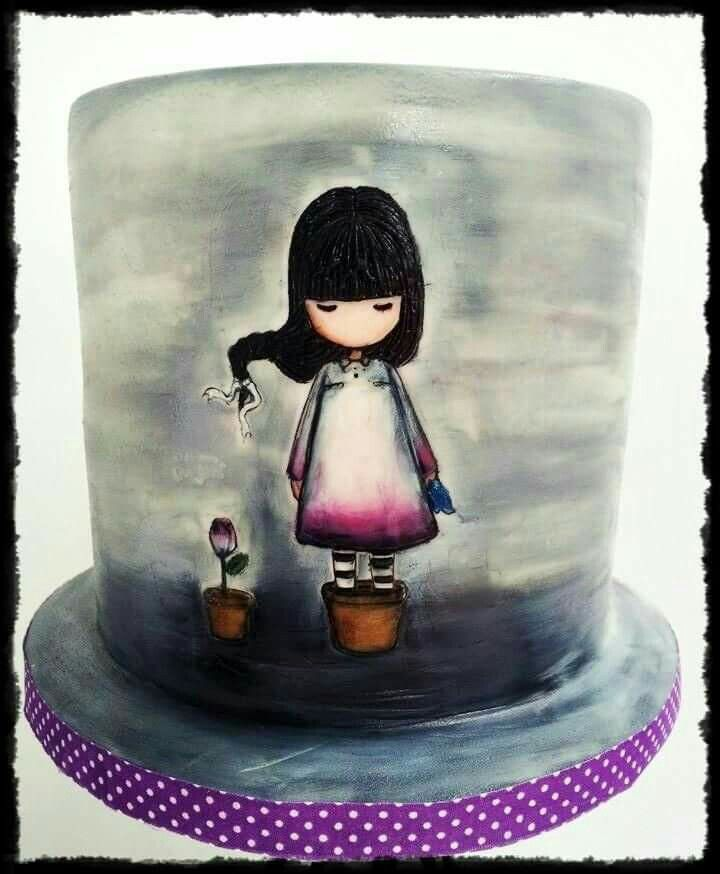 Cake Art By Suzanne : 184 best Gorjuss images on Pinterest Cake ideas ...