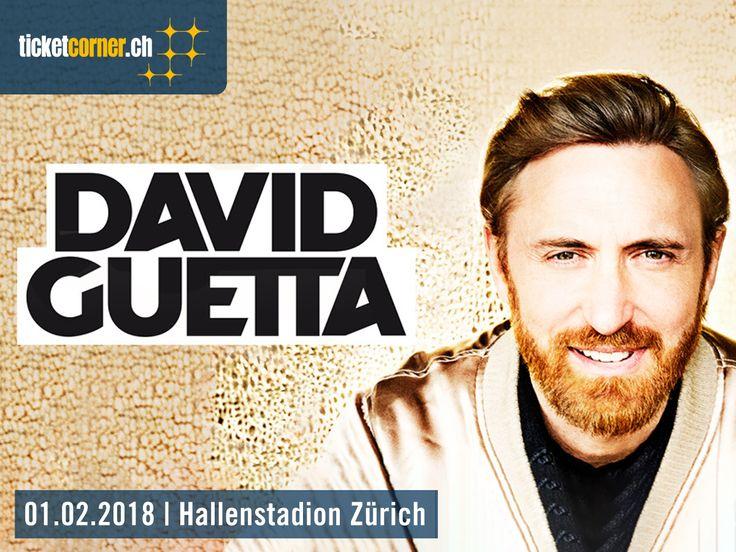 Der französische Superstar, DJ und Produzent David Guetta kündigt für 2018 ein exklusives Live-Spektakel in der Schweiz an. Zürich darf sich am 1. Februar auf seinen pulsierenden Sound freuen.