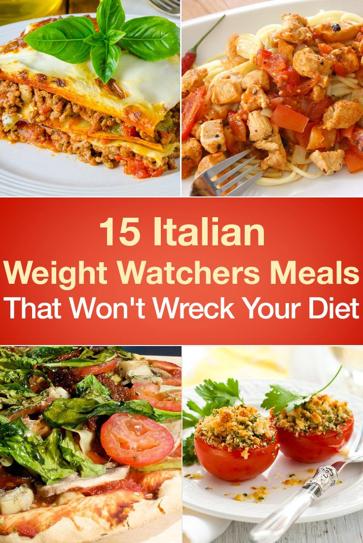 15 Italian Weight Watchers Meals That Won't Wreck Your Diet