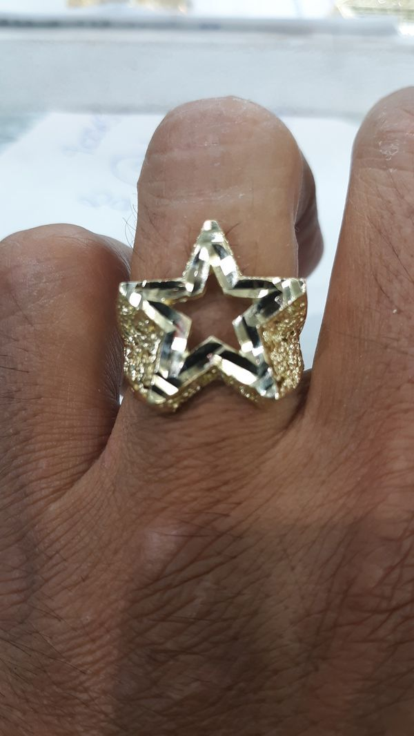 10k Gold Star Ring 8 2 Grams For Sale In Los Angeles Ca Gold Stars Star Ring Rings