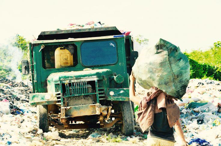 Müllsammler Pursat