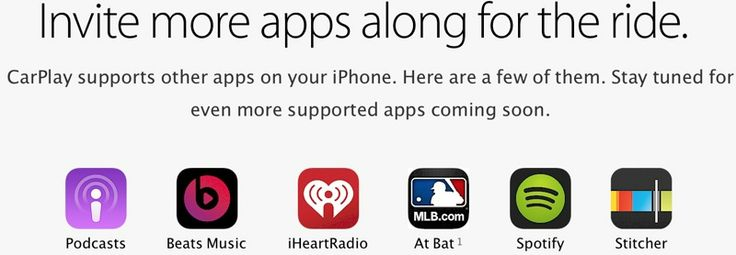 Apple Confirms 'MLB at Bat' Support on CarPlay Website