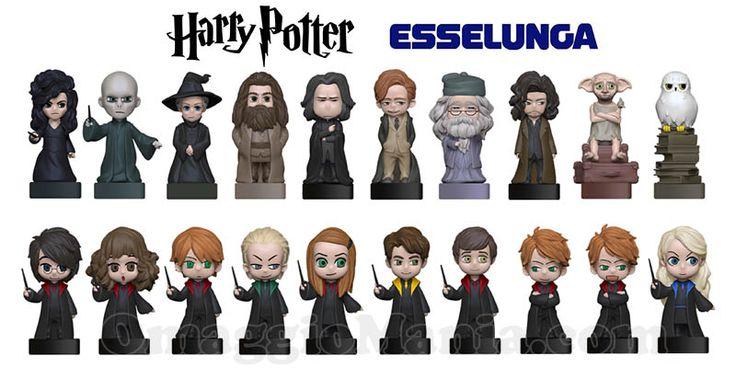 Personaggi di Harry Potter omaggio da Esselunga - http://www.omaggiomania.com/omaggi-con-acquisto/wizzis-harry-potter-omaggio-esselunga/