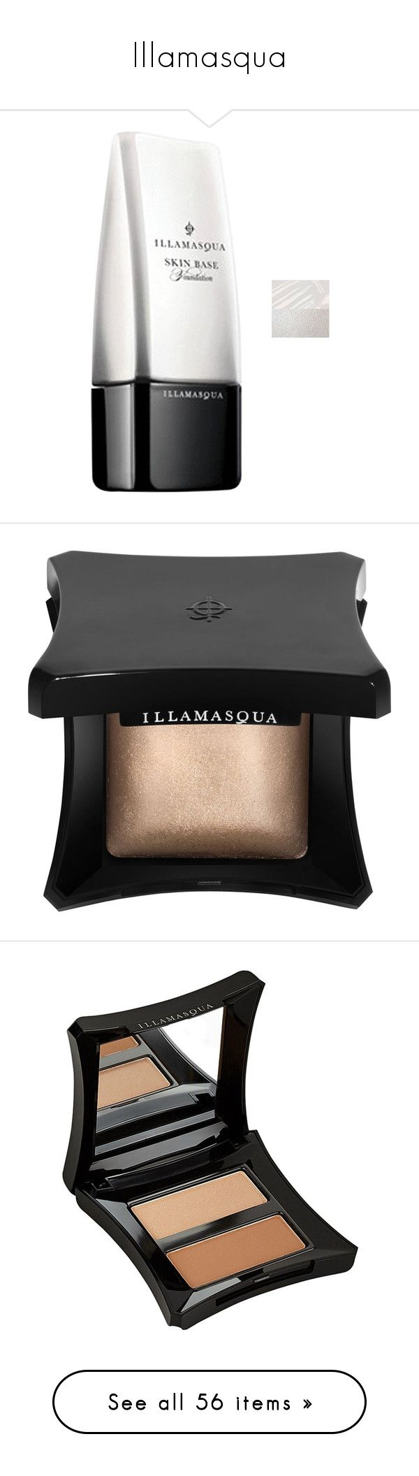 """Illamasqua"" by tina-teena on Polyvore featuring beauty products, makeup, face makeup, foundation, illamasqua foundation, illamasqua, liquid concealer, face powder, beauty and fillers"