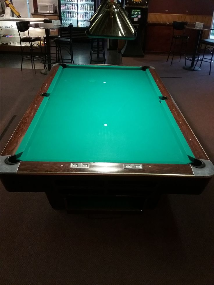 20 Brunswick pool tables with 860 Sinomis cloth