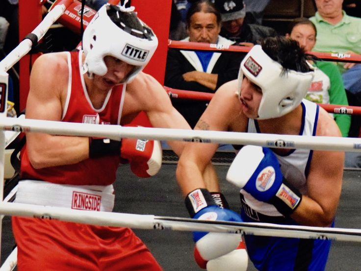 The South Dakota State Golden Gloves held a 13-bout boxing event in front of an enthusiastic crowd.