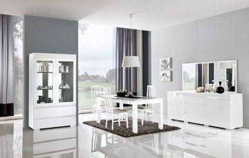 Woonkamer meubel Italiaanse Hoogglans wit