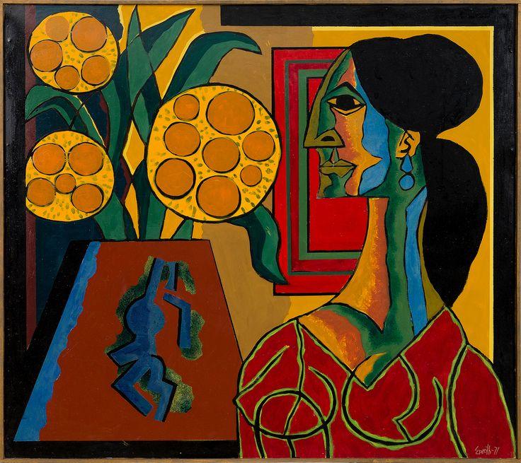 https://flic.kr/p/Jaur5y | Erik Enroth - My Love [1971] | [Bukowski's Auctions, Helsinki - Oil on board, 122.5 x 137 cm]