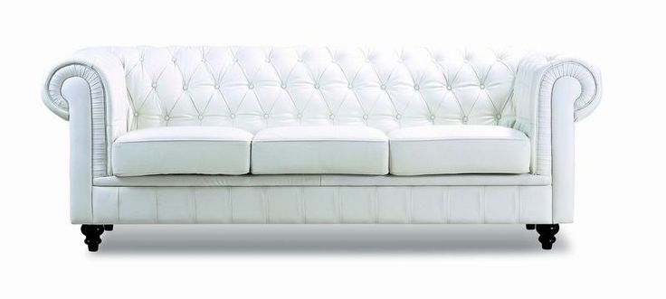 This sofa has a contemporary, fresh look, with classically cool elements. It