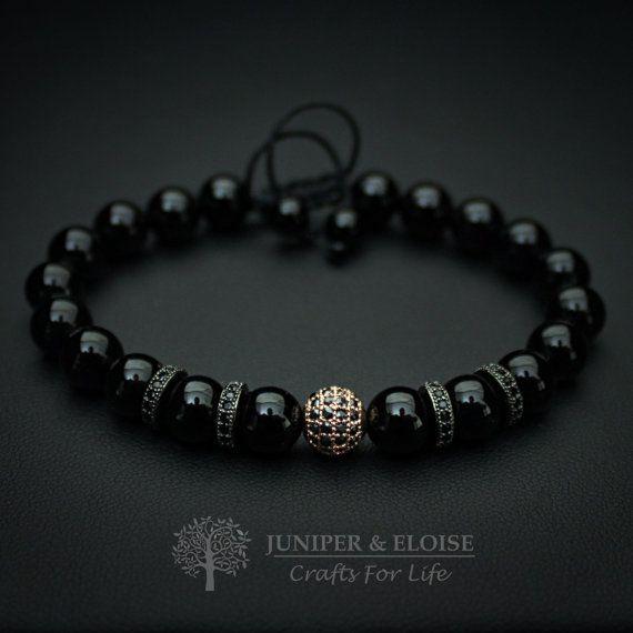 Bracelet pour homme bijoux femmes boule Disco brassard