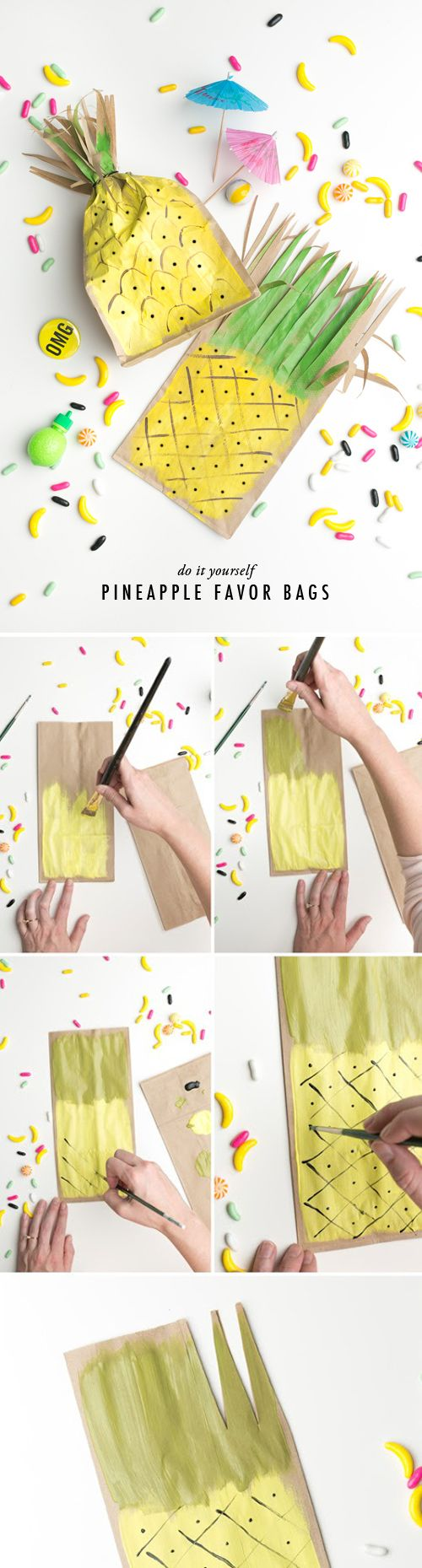 Pineapple favor bags. ❤️⭐️ . ✯ Visit lifespiritssocietyofmagick.com for love spells, wealth spells, healing spells, and LOA info.