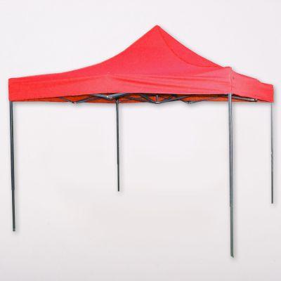 Party sátor, sörsátor 3x3m - piros - Csabazár webáruház