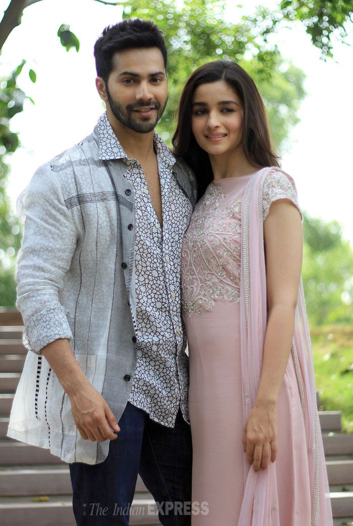 Alia Bhatt and Varun Dhawan in the capital to promote 'Humpty Sharma Ki Dulhania' #Style #Bollywood #Fashion #Beauty