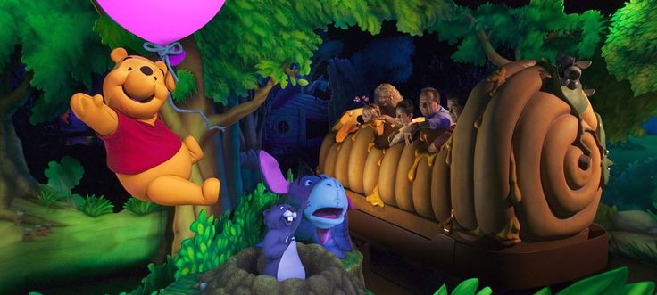 The Many Adventures of Winnie the Pooh at Magic Kingdom ...