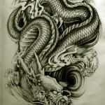 Oriental-Dragon-Tattoo-Style-1