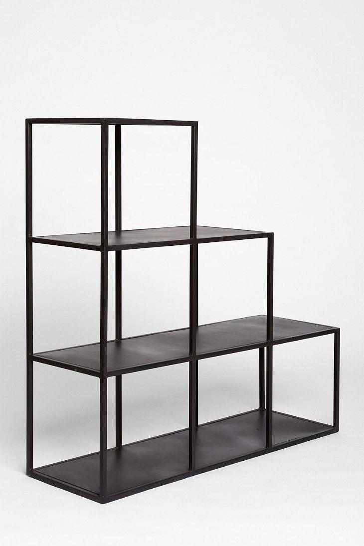 4040 Locust Metal Cube Bookcase Design Pinterest
