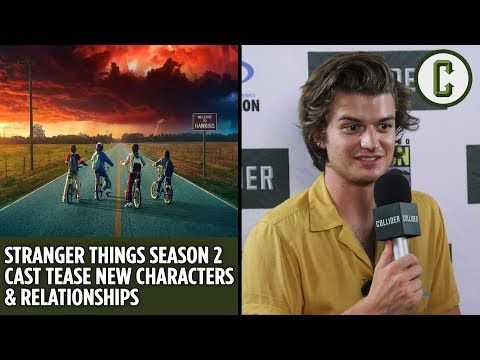Stranger Things Season 2 Cast Tease New Characters & Relationships - Collider Video - YouTube