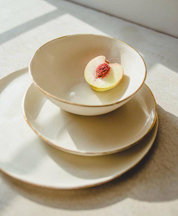 Ceramic Plate Dinner Plate Pottery Dinnerware Pottery Plates Etsy Dinnerware Pottery Pottery Plates Handmade Pottery Plates
