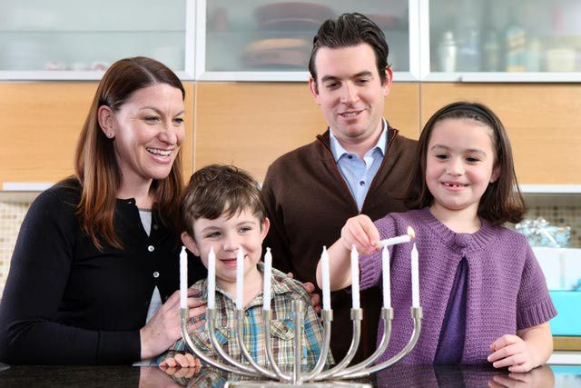 Hanukkah is a Jewish holiday celebrated for eight days and nights. It usually falls in late November or December on the secular calendar.