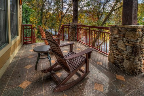 A Chair just waiting for me - Riverstone Resort and Spa
