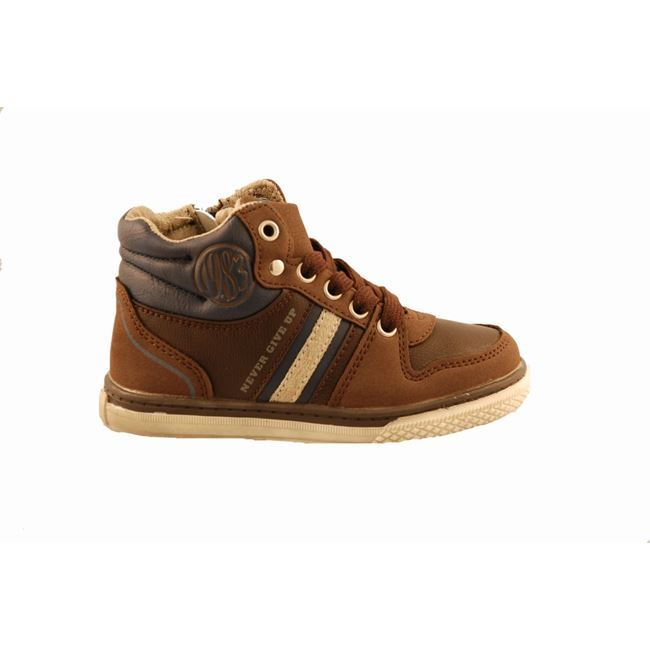 #kids #footwear Μποτάκι M SHOES by Mouyer, καφέ με φερμουάρ στο πλάι και κορδόνια. www.mouyer.gr/paidika-papoutsia-prosfores/m-shoes-botaki-kafe_53733/