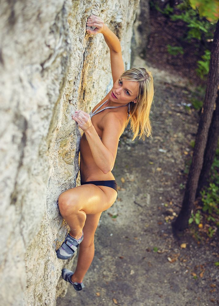 Climbing Girl Hot  Lifestyle  Pinterest  Climbing -8697