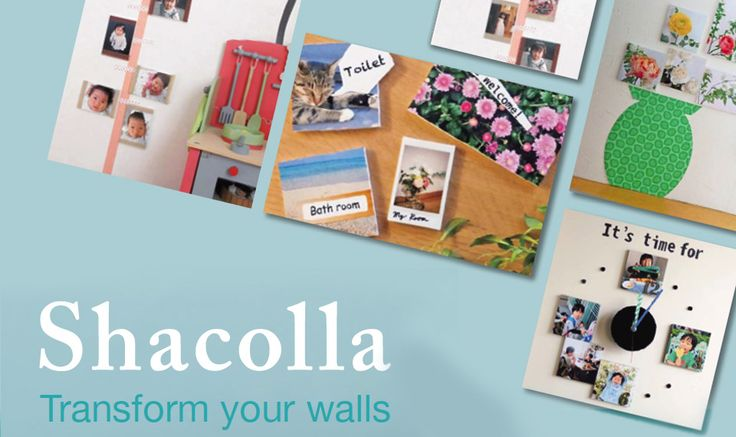 For transforming your walls into great artwork, all you need is Shacolla and your favourite printed
