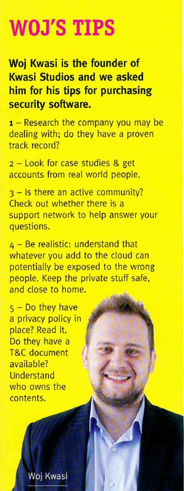 My Security Tips for Small Business as featured in the October 2013 edition of NETT Magazine!