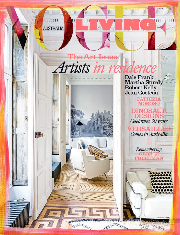 voguelivingmagazine:  The November/December 2016 issue of Vogue Living is on sale now!  On the cover of the art-themed issue: a magazine publishers grand home in Paris. Photographed by Stephan Julliard and styled by Sarah De Beaumont. With original artwork by artist Lara Merrett embellishing the edges of the cover.  To buy or subscribe to the print or digital editions go to http://ift.tt/1d7EQuD  http://ift.tt/2if5XcS