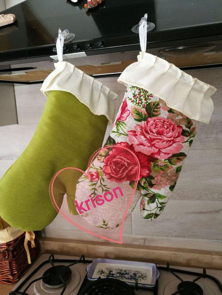 guanti da cucina fatti a mano, by krison, 10,00 € su misshobby.com
