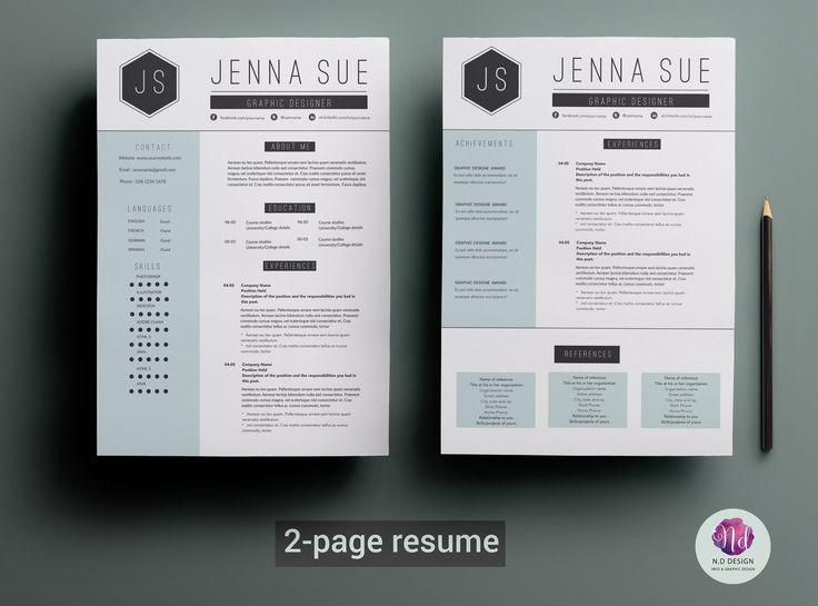 Best  Free Creative Resume Templates Ideas On