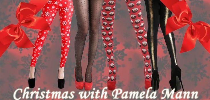 Lovely Christmas Tights from Pamela Mann