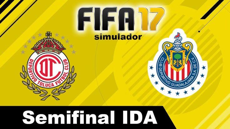 Toluca vs Chivas 2017 RESUMEN Semifinal Partido IDA Clausura 2017 Liga M...