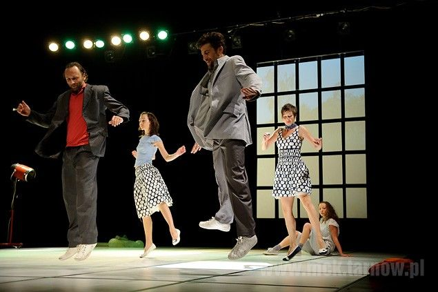 """The #spectacle """"#Red #Grass"""" - Dada von Bzdulow Theatre 2011 #festival #open #stage #tarnow #poland #dance #art #moscice #centre #theater #spectacle"""