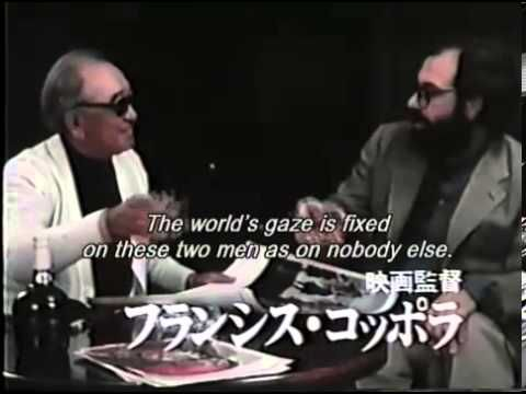 Suntory Whiskey commercials with Akira Kurosawa and Francis Ford Coppola. Copyright Disclaimer Under Section 107 of the Copyright Act 1976, allowance is made...