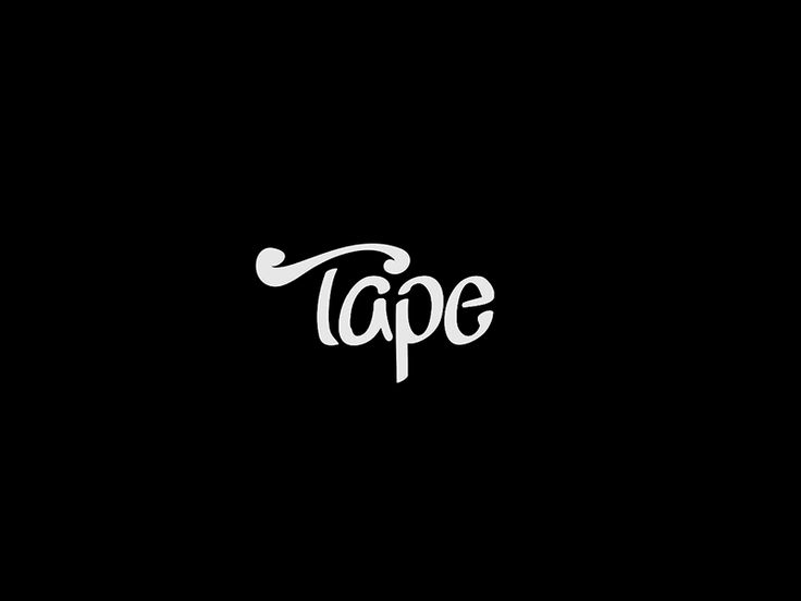 Tape | Gif | Motion Graphics | Motion | Animated | Typography | Type | Typo | Black |