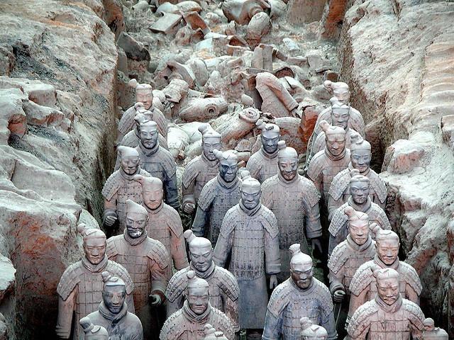 78 Best imag... Terracotta Army Qin Dynasty 210 Bc Art