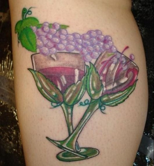 15 best wine ink images on pinterest wine tattoo wine for Tattoo cork ink