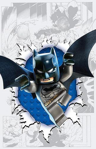 DC Comics LEGO Batman 3 : Beyond Gotham variant cover - Detective Comics #36