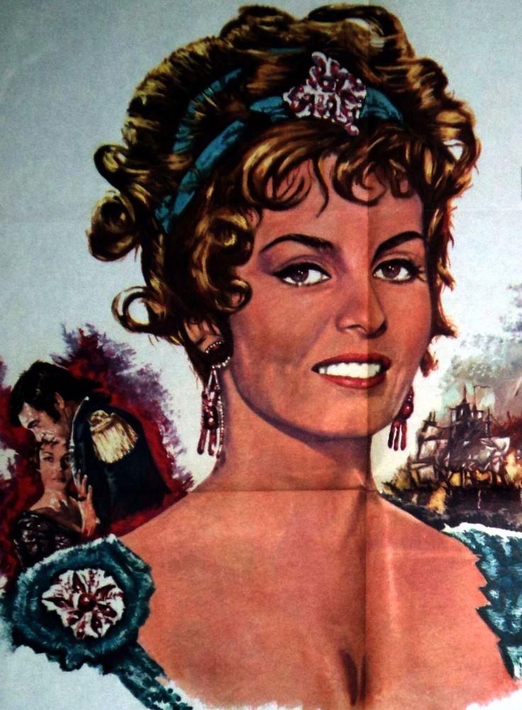 MICHELE MERCIER LES AMOURS DE LADY HAMILTON AFFICHETTE ORIGINALE FRANCAISE 1968 | eBay