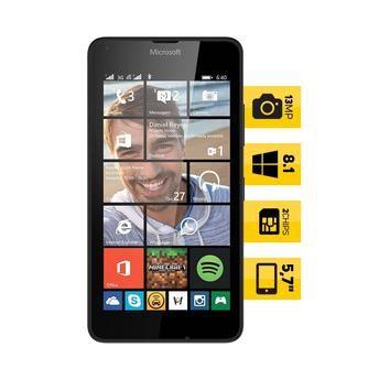 (Wal-Mart) Celular Desbloqueado Microsoft Lumia 640 Dual Sim DTV Branco 2602239 - de R$ 899 por R$ 699 (23% de desconto)