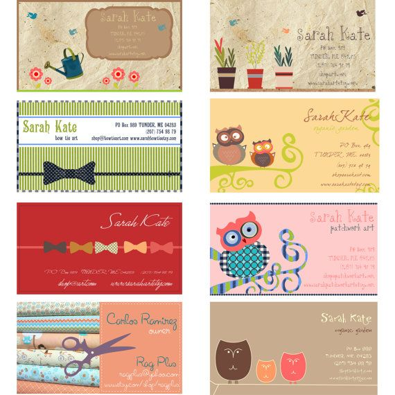 251 Best Images About Business Card Design On Pinterest
