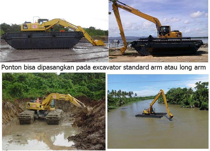 JUAL dan RENTAL amphibious excavator / swamp excavator, excavator rawa-rawa, swamp beko, excavator amphibi.  jual pontoon undercarriage yang berguna untuk menjadikan excavator darat menjadi excavator amphibi atau swamp excavator atau excavator rawa-rawa, floating excavator. Swamp backhoe cocok untuk pengerukan lahan tanah gambut, empang, tambak, danau, sungai, pantai. HP: 081241888131