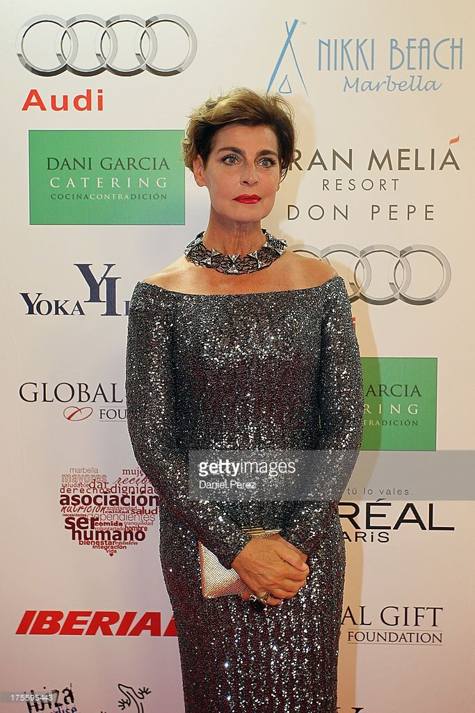 Antonia Dell'Atte attends the Global Gift Gala 2013 red carpet at Gran Melia Don pepe Resort on August 4, 2013 in Marbella, Spain.