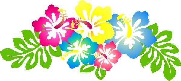 Hibiscus Flower Clip Art   Hibiscus4 clip art - vector clip art online, royalty…