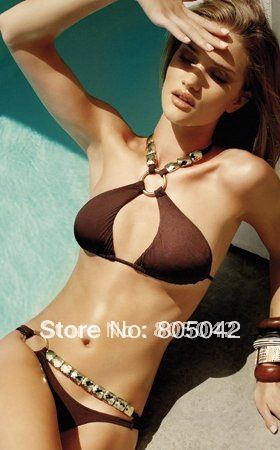 wholesale--sexy bikini, hot swimwear, ladies swimwear 20sets/lot+free shipping US $200.00 /lot (20 sets/lot) Specifics Gender	Women Item Type	Bikinis Set is_customized	Yes Pattern Type	Solid Brand Name	OEM Material	Spandex / Polyester Model Number	001 color	as see picture style	fashion style Place of Origin	Guangdong, China (Mainland) Age Group	Adults Available Quantity	500 Feature	Breathable, Nontoxic, Quick Dry  Click to Buy :http://goo.gl/t9O329