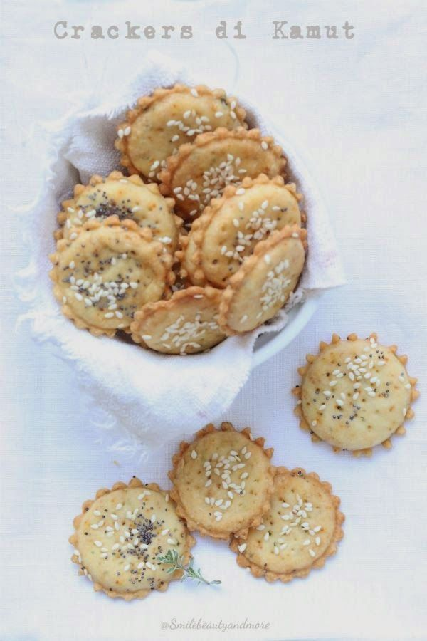 Crackers con farina di kamut