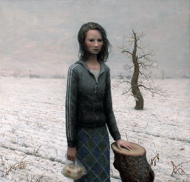 Ruth by Aron Wiesenfeld: Oil On Canvas, Illustrations, Aaron Wiesenfield, Aron Wiesenfeldart, Painting, Aronwiesenfeld, Ruth, Artists Painters, Canvases