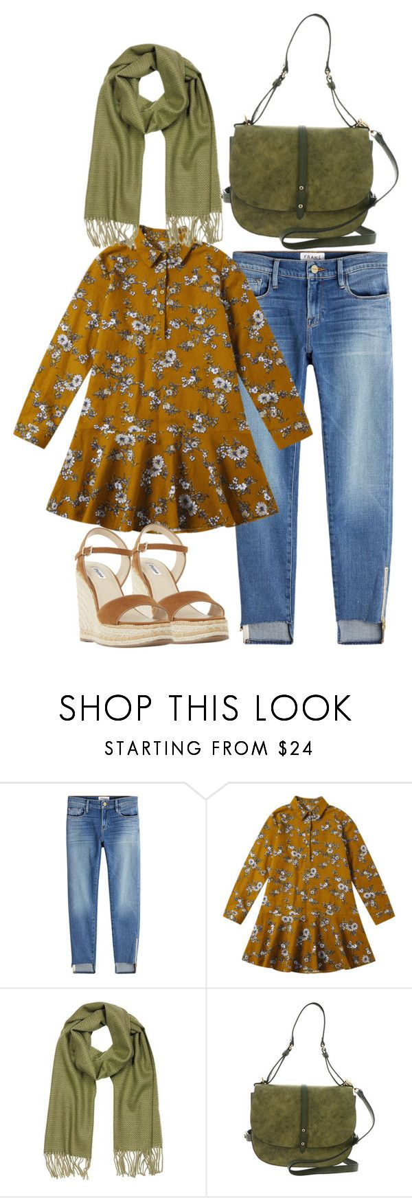 """Hijab Outfit"" by linnaprahayu on Polyvore featuring Frame, Mila Schön, Steve Madden and Dune"