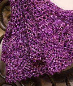 Free Pattern: Afternoon tea shawl